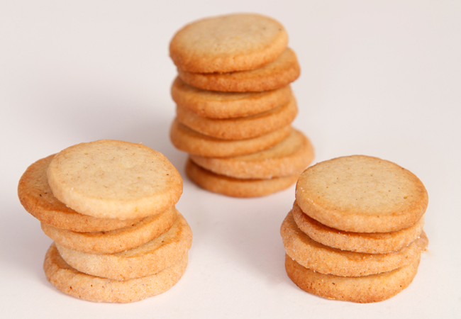 Lemon-Five Spice Semolina Shortbread | Anthony Leberto Catering