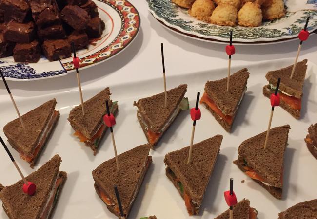 Cucumber & Dill Mascarpone Tea Sandwiches | Anthony Leberto Catering
